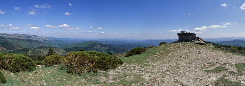Panorama du Signal de Ventalon